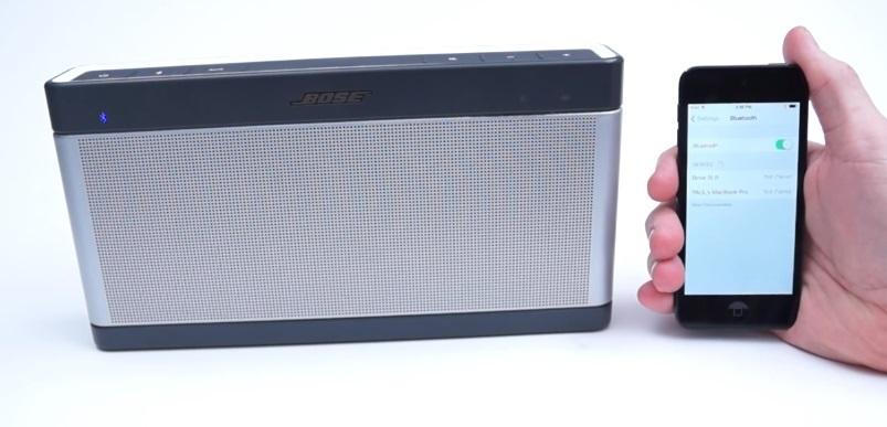 Вышла 3 по счету версия Bose SoundLink