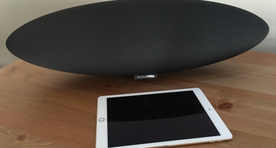 Обзор Bluetooth стерео колонки Bowers & Wilkins Zeppelin