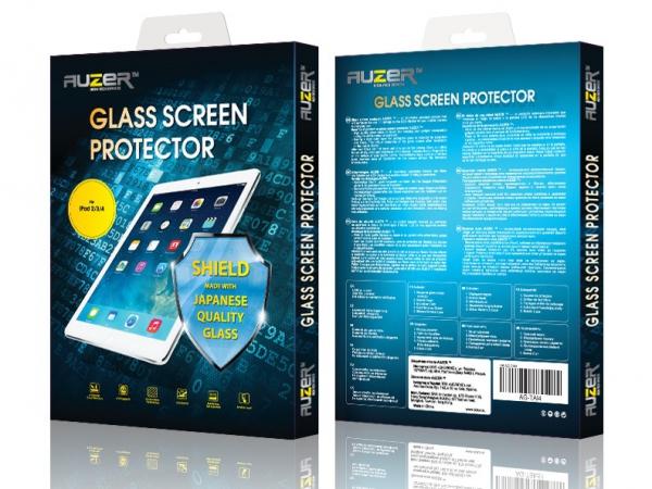 Защитное стекло Apple iPad 2/3/4 AUZER