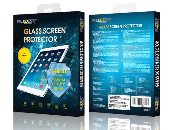 Защитное стекло Apple iPad Air/Air2 AUZER