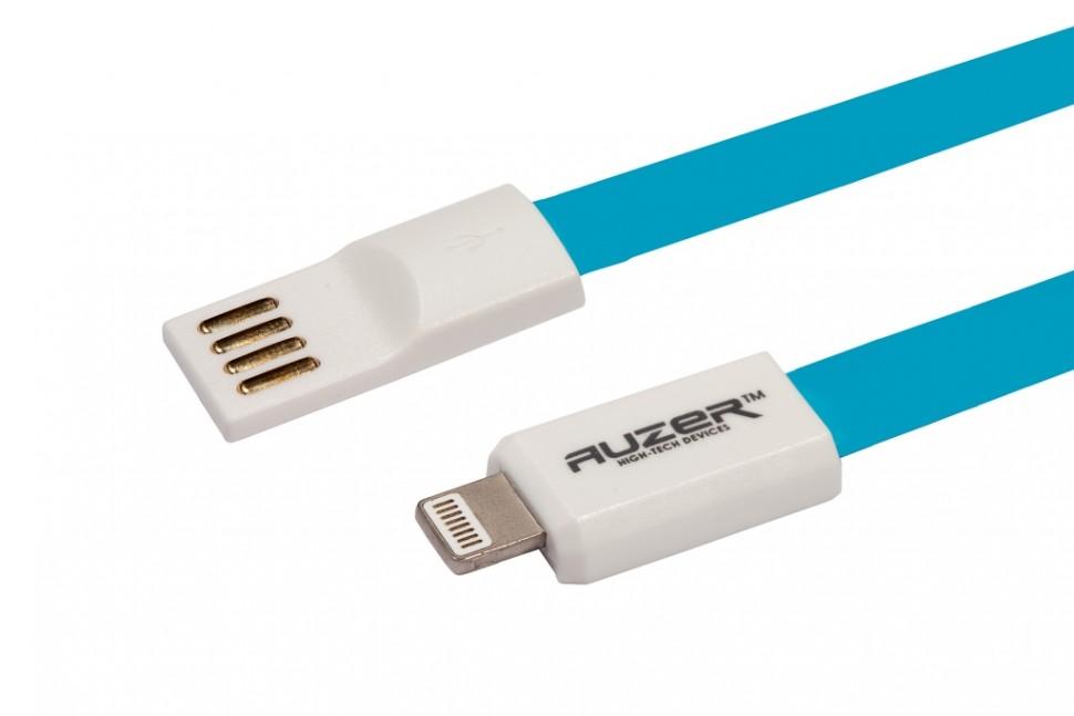 Кабель синхронизации USB to Lightning 8 pin Flat AUZER