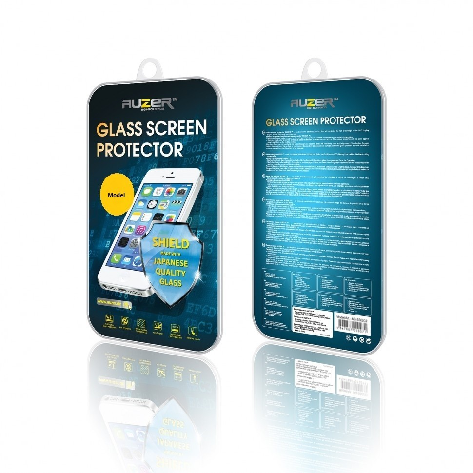 Защитное стекло Samsung Galaxy S5 Mini (G800) AUZER