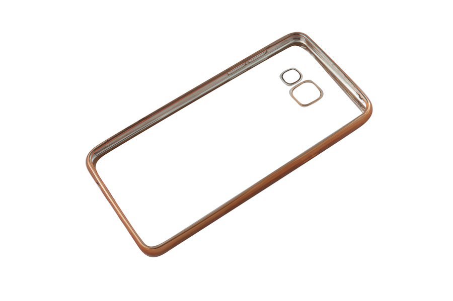 Ультратонкий чехол-бампер Samsung Galaxy A510F (Gold) AUZER