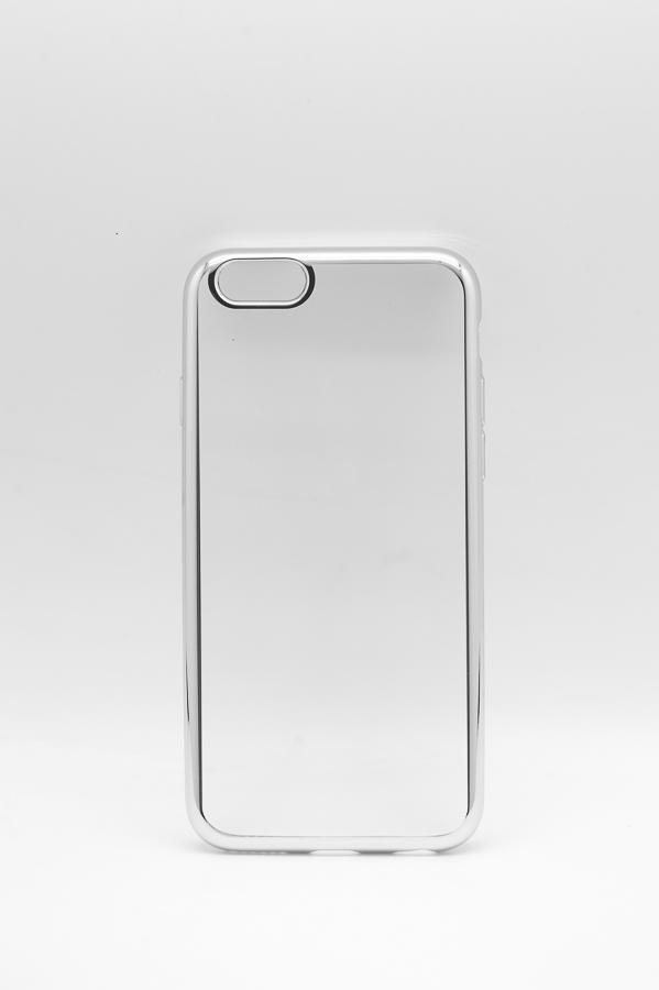 Ультратонкий чехол-бампер Apple iPhone 6/6S (Silver) AUZER