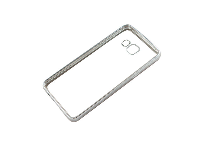 Ультратонкий чехол-бампер Samsung Galaxy A510F (Silver) AUZER