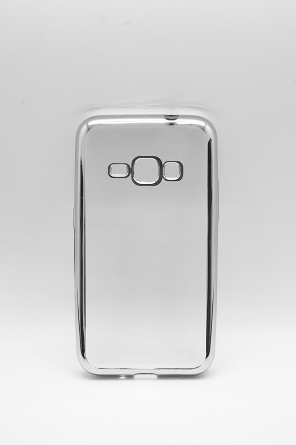 Ультратонкий чехол-бампер Samsung  J120F (2016) (Silver) AUZER