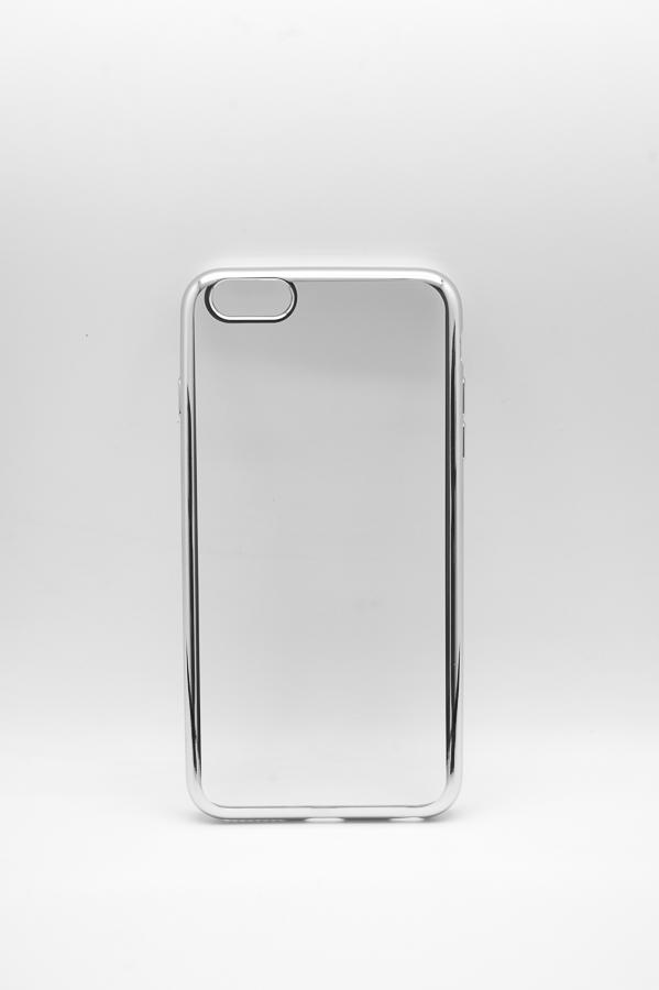 Ультратонкий чехол-бампер Apple iPhone 6 Plus (Silver) AUZER
