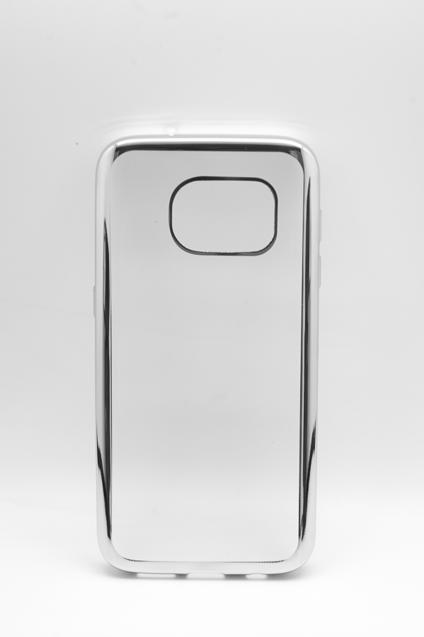 Ультратонкий чехол-бампер Samsung Galaxy  S7  (Silver) AUZER