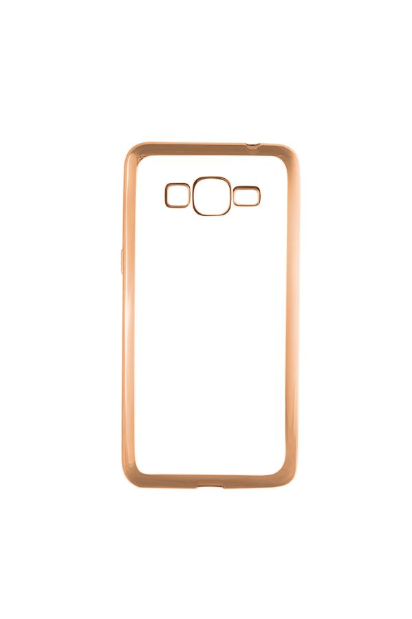 Ультратонкий чехол-бампер Samsung Grand Prime G530/G531 (Gold) AUZER