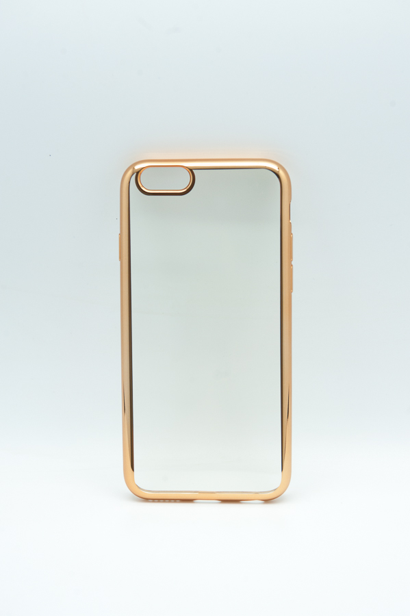 Ультратонкий чехол-бампер Apple iPhone 7 (Gold) AUZER