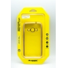 Ультратонкий чехол-бампер Samsung  J120F (2016) (Gold) AUZER